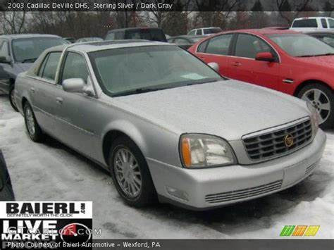 2003 Cadillac Dhs by Sterling Silver 2003 Cadillac Dhs Gray
