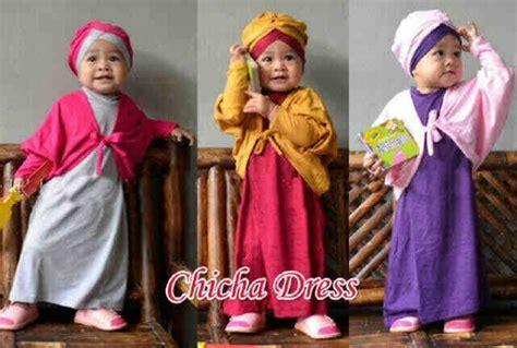 3in1 Maxi Polka gamis anak chicha dress a625 butik jingga