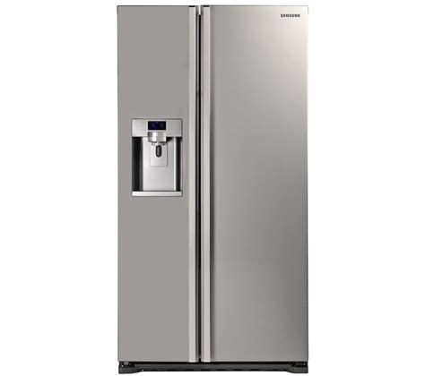 Freezer Samsung buy samsung rsg5uumh american style fridge freezer manhattan silver free delivery currys