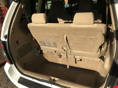 stow and go seating vehicles white 2005 mazda mpv 7 passenger with stow go on the