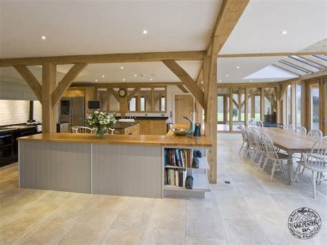 Farmhouse Kitchens Designs by Timber Frame Design And Timber Frame Additions