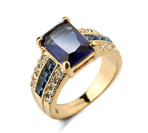 Rings For Men: Rings For Men Blue Stone