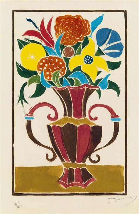 Bouquet De Fleurs Dans Un Vase by Andr 201 Derain Bouquet De Fleurs Dans Un Vase