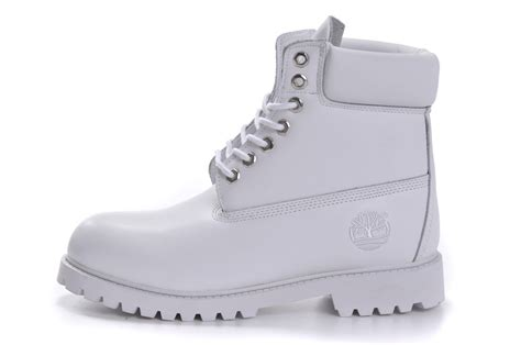 womens timberland 6 inch premium boots all white