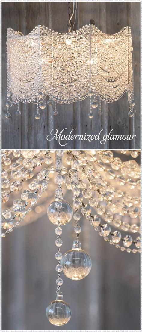 beaded chandelier l shades the new look of crystal chandeliers modernized glamour