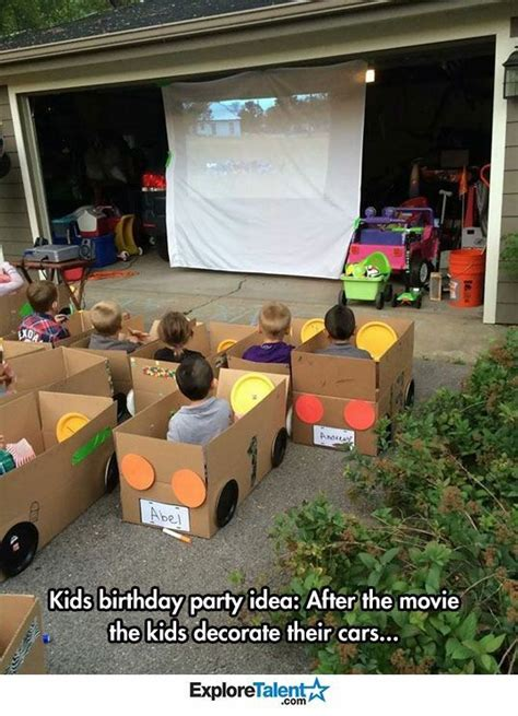 black car party in the backyard pinterest the world s catalog of ideas
