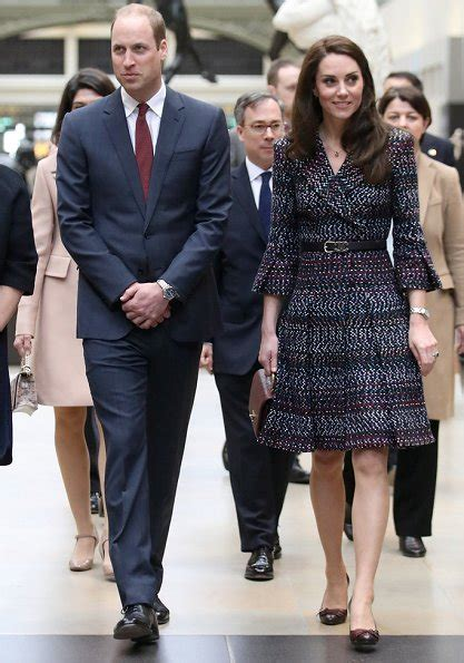 Dress New Diana Princess Pt 2 2nd day visit of prince william and duchess
