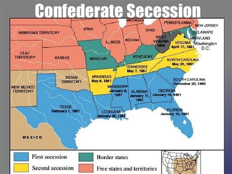 The War Of Secession beginning of the civil war powerpoint u s history i