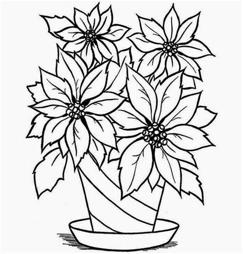 Drawing Flowers In A Vase by Colour Drawing Free Wallpaper Flowers Vase Coloring