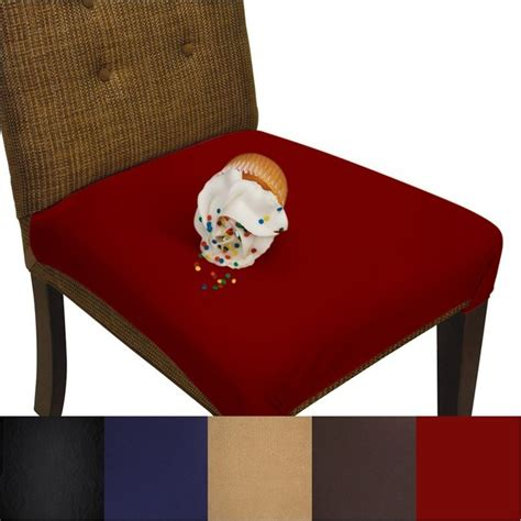 Burgundy Dining Room Chair Covers Smartseat Dining Chair Seat Cover And Protector Burgundy