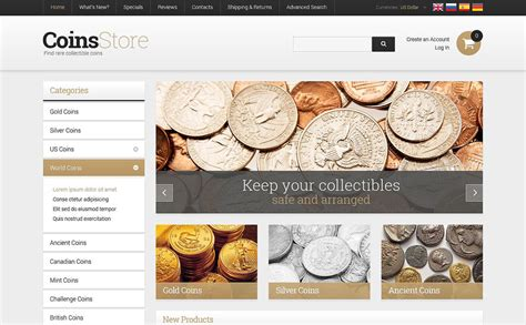 antique store oscommerce template 52580