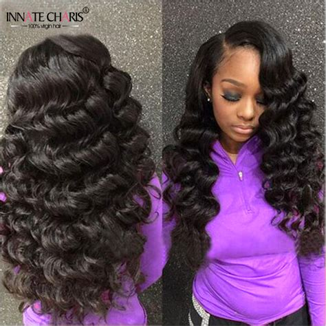 Wave Sew In Hairstyles by Wave Vigin Hair Bundles 3pcs Unprocessed