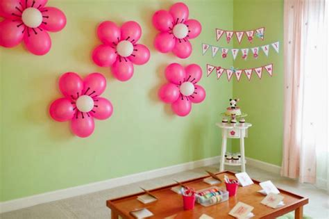 Ideas For Birthday Decoration At Home Birthday Decorations At Home Marceladick