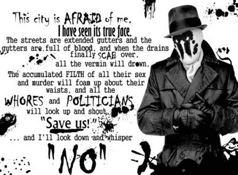 ... Rorschach Watchmen DC Comics Movie Quote Poster - Thumbnail 2
