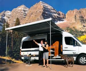 Sportsmobile Awning Sportsmobile Custom Camper Vans Sprinter Exterior Options