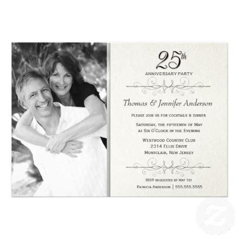 25th wedding invitations templates invitation wording ideas and wedding on