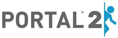 portal 2 typography file portal 2 logo svg half wiki fandom powered by wikia