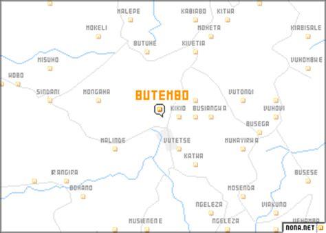 butembo (congo, democratic republic of the) map nona.net