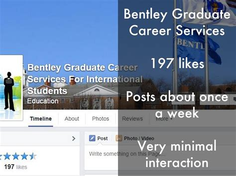 Bentley Career Services Bentley Graduate Career Services By Yaplewen
