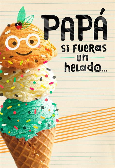 happy  extra sprinkles spanish language fathers day