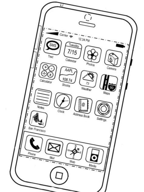 Iphone X Coloring Page by Apple Mac Iphone Ipod Itunes Precios Prices Iphone