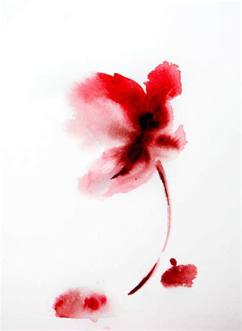 lukisan bunga simple jual poster  juragan poster