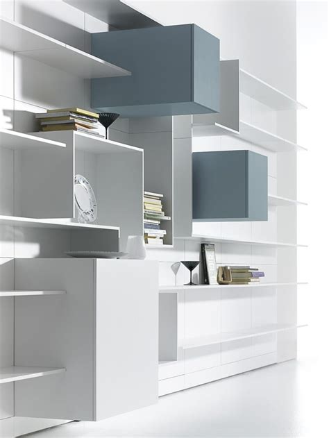 Scaffali Per Sgabuzzino by Sectional Mdf Storage Wall Vita Mdf Italia Bookcases