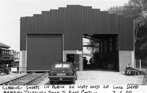 Shed West End by Yeovil Railway Centre 1999