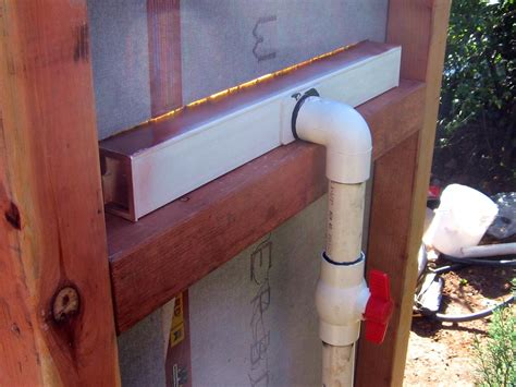 how to build a copper water wall how tos diy