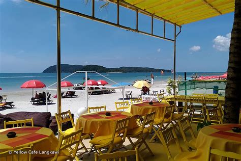 yellow cafe yellow cafe langkawi a vibrant and lively beachfront cafe in pantai cenang