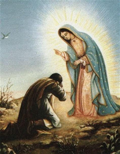 imagenes de la virgen maria con juan diego misterios del hombre y del universo juan diego y la