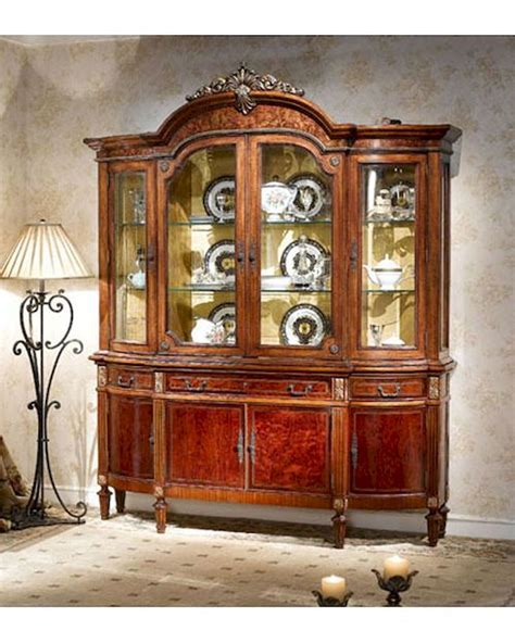 infinity furniture infinity furniture classic display cabinet louis xvi inlv751 4