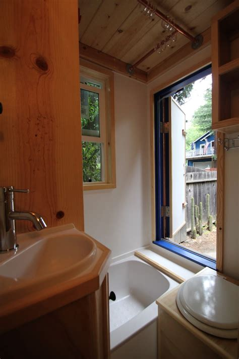 Tiny House Bathroom Design by Molecule Tiny Homes Tiny House Design