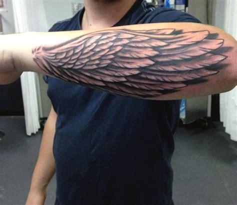 Schöne Tattoos Männer by Fl 252 Gel Unterarm Fl Gel Federn