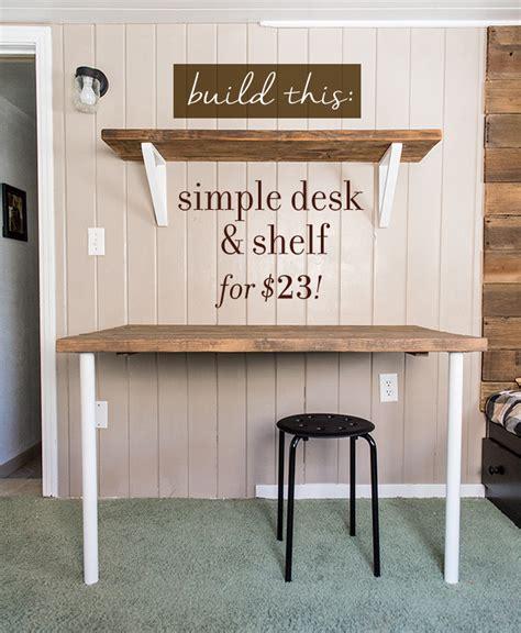 Diy Cheap Desk Simple Diy Wall Desk Shelf Brackets For 23 Desk Shelves Desks And Shelf Brackets
