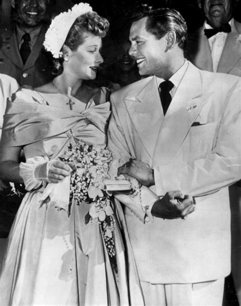 lucy ball and desi arnaz lucille ball and desi arnaz s second wedding june 1949