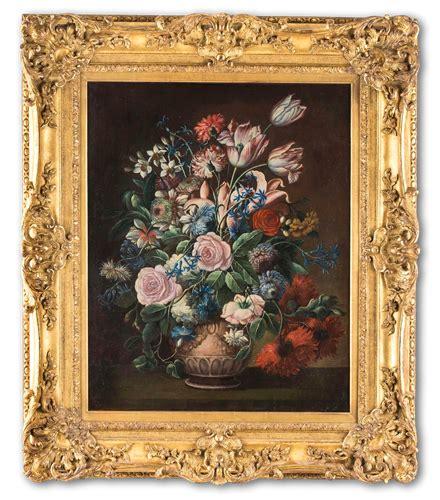 nature morte con fiori dipinti antichi nature morte