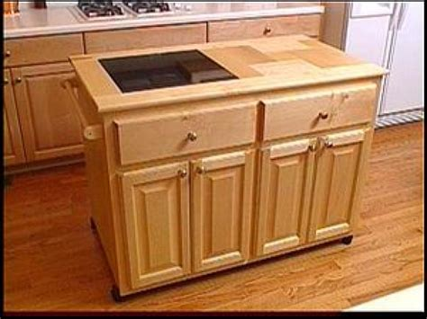 kitchen island base kits make a roll away kitchen island hgtv