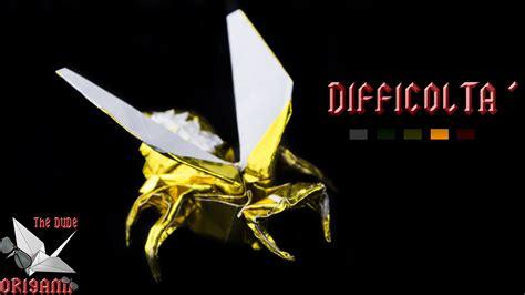 tutorial origami vespa origami ita vespa avispa anibal voyer animali