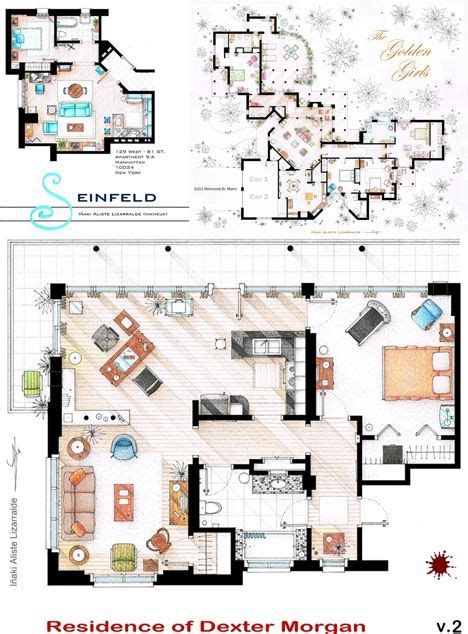 famous house floor plans 17 best images about honors project circulation interior