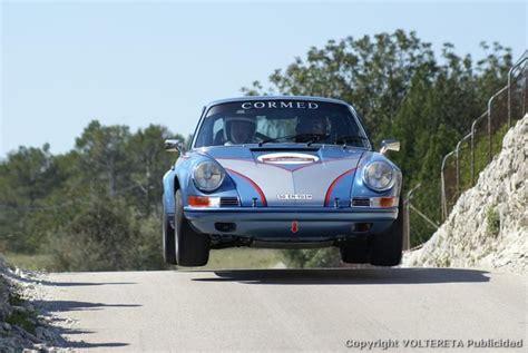 Porsche 911 Rally Car Jump Cars