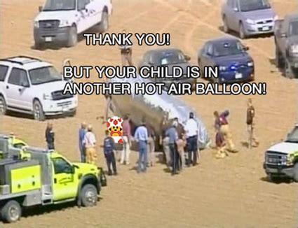 Balloon Boy Meme - balloon boy meme hits the interwebs kerrydean com