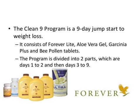 forever clean 9 weight management flp weight loss program interglobe8r