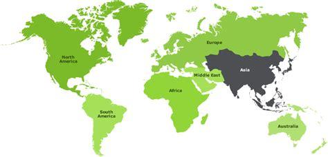 middle east highlighted map global organization landis gyr