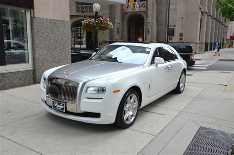 rolls royce white and gold 2013 rolls royce ghost stock r110 for sale near chicago