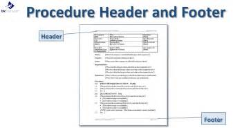 it procedures template writing a standard operating procedure sop template sop