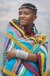 beautiful venda woman in her traditional attire south