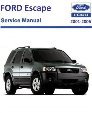 2001 2006 ford escape repair manual pdf free download scr1 2001 2006 ford escape repair manual free diy online pdf