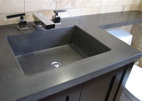 how to make a concrete sink for bathroom 44 best images about concrete countertops on pinterest