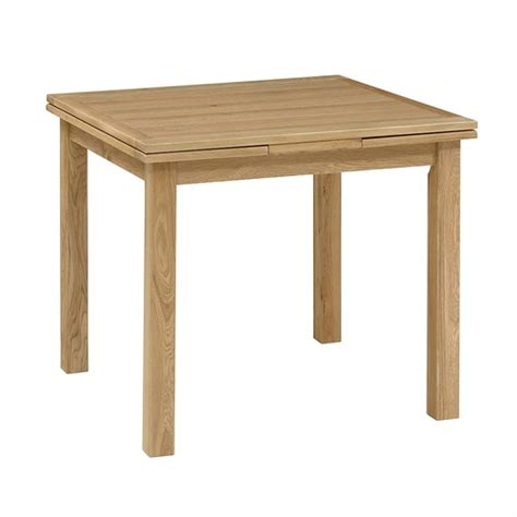 dining table alternatives light oak 90 155cm square extending dining table 610 011 with free delivery the cotswold